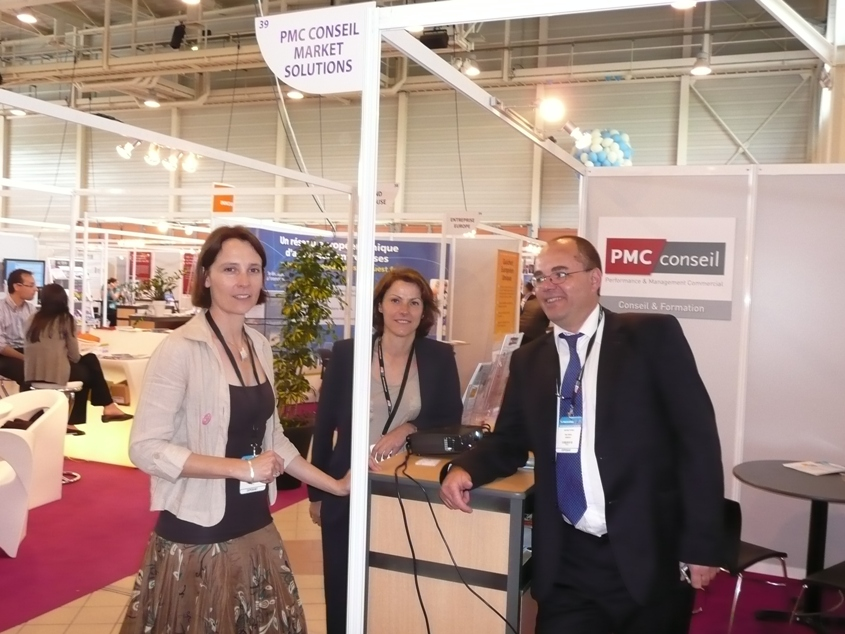 Stand PMC Conseil - Market Solutions